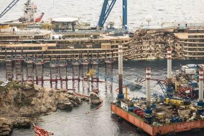 Il recupero della Costa Concordia e la salvaguardia ambientale del Giglio