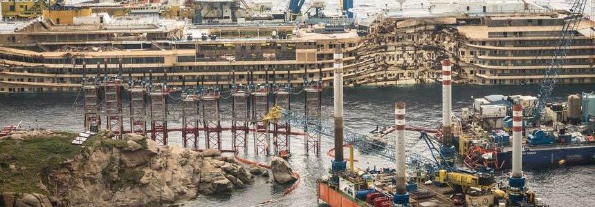 Il progetto di recupero della Costa Concordia