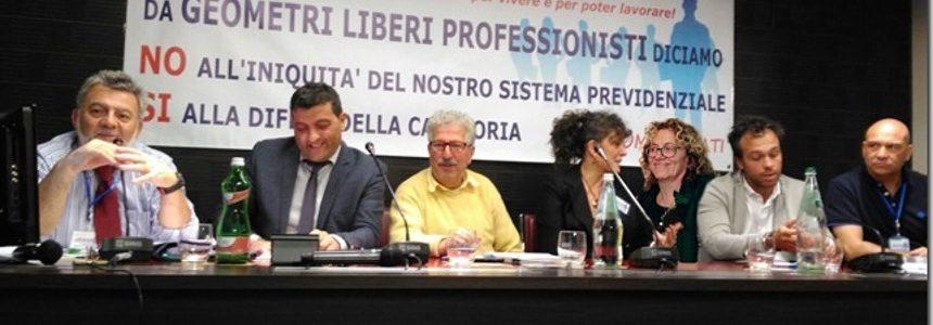Preoccupazione per l'incertezza del futuro dei Geometri Italiani