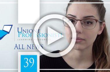 All News #39 – Protocollo professionisti abilitati, Scrivania del Territorio e Successioni online