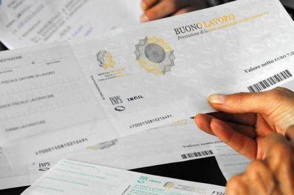 Addio ai voucher, Palazzo Chigi anticipa il referendum e manda in soffitta le disposizioni sul lavoro accessorio