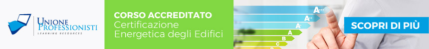 Corso Agg Certificatori Energetici