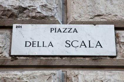Il nuovo volto di Piazza della Scala