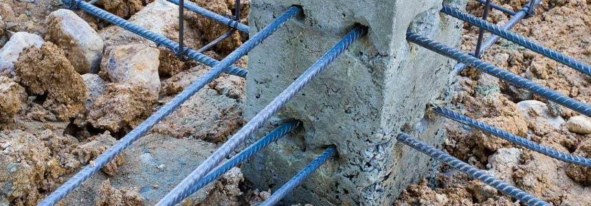Geometri stop ai lavori in cemento armato