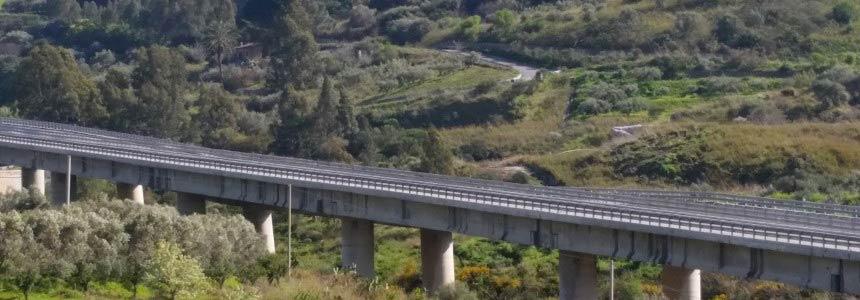Viadotto Himera: cronologia dei lavori