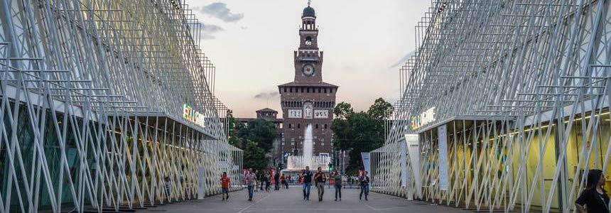 la riqualificazione urbana di Piazza Castello a Milano