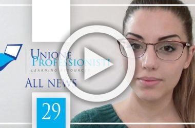 All News #29 – Valutazione immobiliare, Fondi Ue professionisti e Pensione anticipata