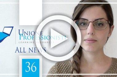 All News #36 – Disaster Manager, Geometri dipendenti e Albo professionale e Ecobonus condomini