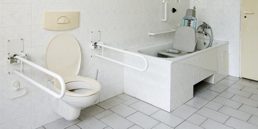 Stop barriere architettoniche come progettare un bagno accessibile - Bagno barriere architettoniche ...