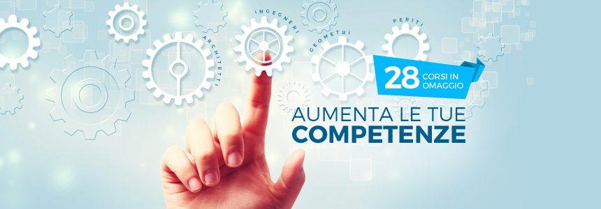 Aumenta le tue competenze: 28 corsi in omaggio solo per te!
