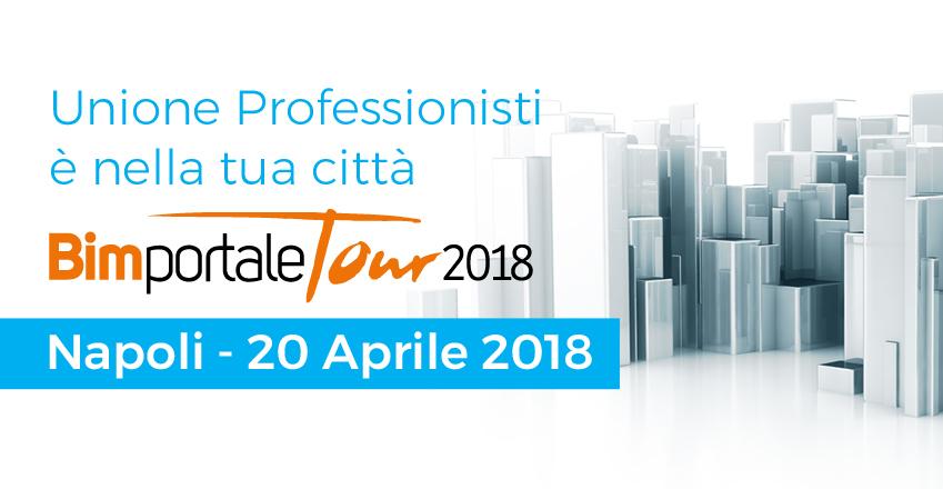 Napoli Bim portale tour 2018: l'importanza Heritage BIM