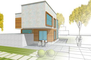 Saint-Gobain presenta XYLIVING: una casa eco-sostenibile realizzata con l'uso di elementi modulari in legno di pioppo