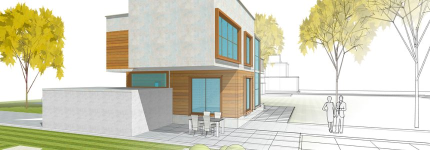 Saint-Gobain presenta XYLIVING: una casa eco-sostenibile