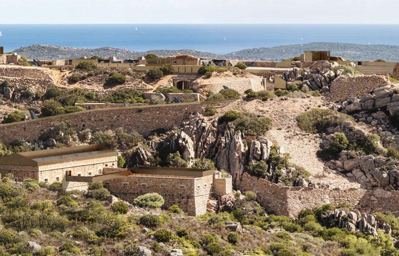 Il team ZDA | Zupelli Design Architettura ha vinto il primo premio del concorso per idee Military Museum, Capo D'Orso Palau