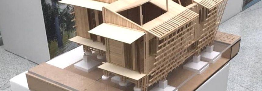 Una casa resiliente progettata dal team del Politecnico di Torino
