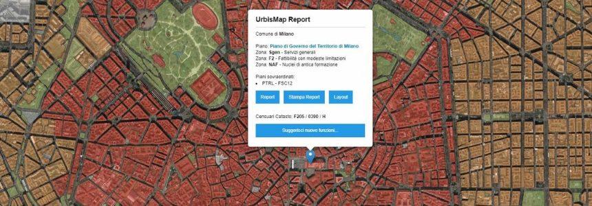 Urbismap. Un geoportale gratuito per professionisti tecnici!