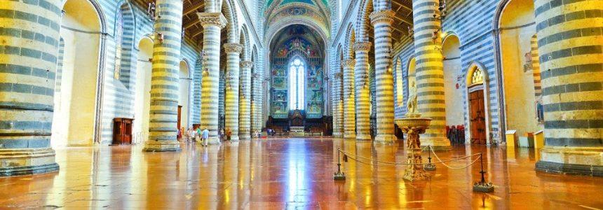 Duomo di Orvieto, basamenti antisismici ENEA per le statue di Mochi