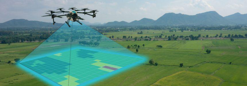 Droni per il monitoraggio degli edifici e del territorio
