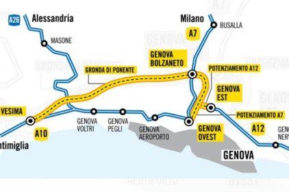 Gronda di Genova, online analisi costi benefici e analisi giuridica: il MIT boccia la Gronda