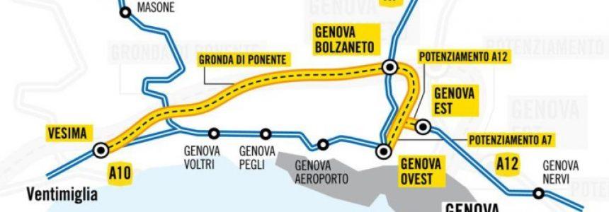 Gronda di Genova, online analisi costi benefici, il MIT boccia la Gronda