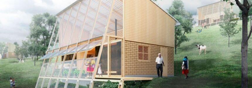 Prototipo di edilizia rurale sostenibile in Colombia, di FP Arquitectura
