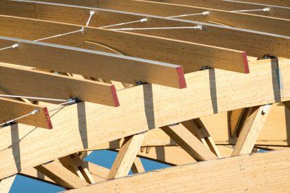 Tetti in legno lamellare: particolari costruttivi