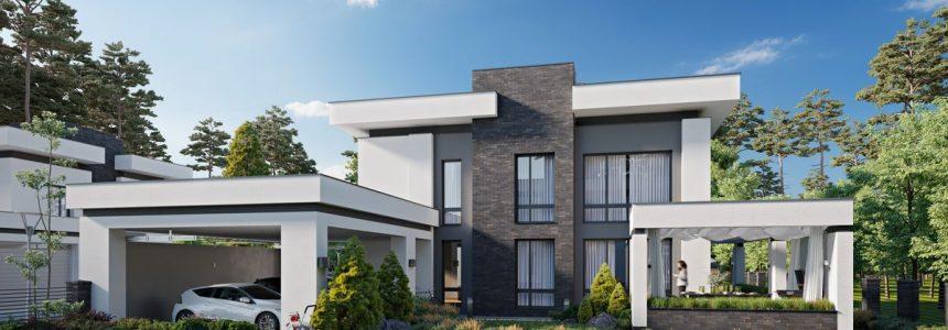 villetta-garage-rendering